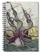 Giant Octopus Spiral Notebook