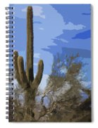 Giant Saguaro Spiral Notebook