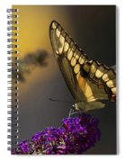 Giant Swallowtail Spiral Notebook