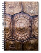 Giant Tortoise Carapace Spiral Notebook