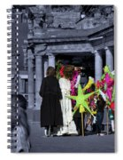 Giants Party Spiral Notebook