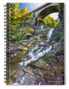 Giant's Staircase Under College Avenue Bridge Spiral Notebook