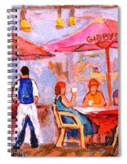 Gibbys Cafe Spiral Notebook