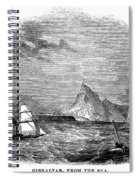 Gibraltar, 1843 Spiral Notebook