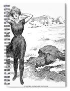 Gibson: Bather, 1902 Spiral Notebook