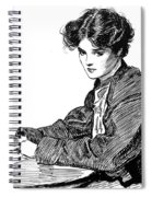 Gibson: Drawings, C1900 Spiral Notebook