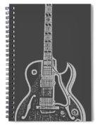Gibson Es-175 Electric Guitar Tee Spiral Notebook