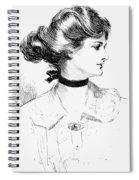 Gibson: Gibson Girl, 1905 Spiral Notebook