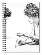 Gibson Girls 1904 Spiral Notebook