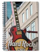 Gibson Les Paul Of The Hard Rock Cafe Spiral Notebook