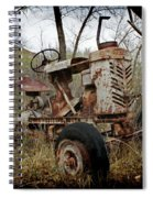 Gibson Tractor Spiral Notebook