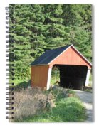 Gifford Covered Bridge  Spiral Notebook
