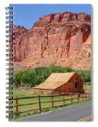 Gifford Homestead Barn - Capitol Reef National Park Spiral Notebook