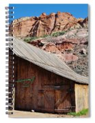 Gifford Homestead Capitol Reef National Park Spiral Notebook
