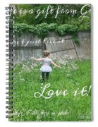 Gift Spiral Notebook