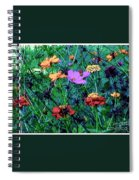 Gift Of Flowers Spiral Notebook