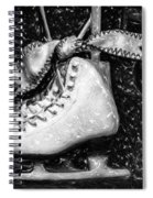 Gift Of Ice Skating Spiral Notebook