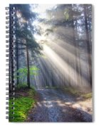 Gift Of Light Spiral Notebook