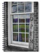 Gift Shop Window Spiral Notebook