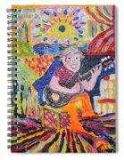 Gifted Guitar Man Spiral Notebook