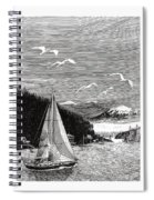 Gig Harbor Sailing School Spiral Notebook