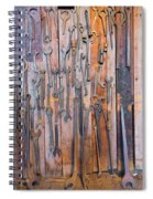 Gigantic Wrenches Spiral Notebook