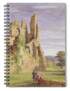Gight Castle, 1851 Spiral Notebook