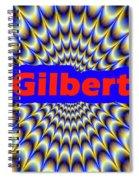 Gilbert Spiral Notebook