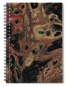Gilded Wing Spiral Notebook