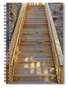 Gilpin County Museum Stairs Spiral Notebook