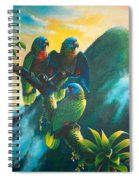 Gimie Dawn 1 - St. Lucia Parrots Spiral Notebook