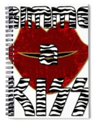 Gimme A Kiss Spiral Notebook