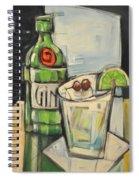 Gin Gimlet Spiral Notebook