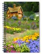 Ginger Cottage Spiral Notebook