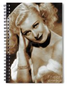 Ginger Rogers, Actress Spiral Notebook