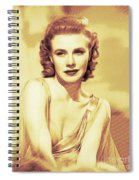 Ginger Rogers, Hollywood Legends Spiral Notebook