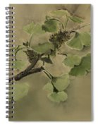 Gingko Branch Spiral Notebook