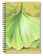 Ginkgo On The Cusp Of Autumn Spiral Notebook