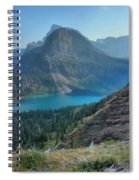 Ginnell Glacier Lake Spiral Notebook