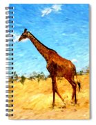 Giraffe Spiral Notebook
