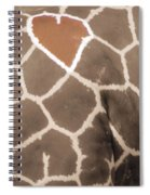 Giraffe Love Spiral Notebook