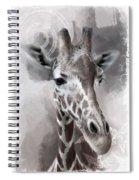 Giraffe No 01 Spiral Notebook