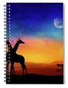 Giraffes Can Dance Spiral Notebook