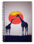 Giraffes Spiral Notebook