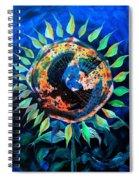 Girasol De La Noche Spiral Notebook