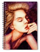 Girl And Dreams Spiral Notebook
