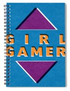 Girl Gamer Spiral Notebook