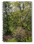 Girl In The Meadow Spiral Notebook
