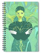 Girl Planted Spiral Notebook