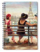 Girls Day Out Spiral Notebook